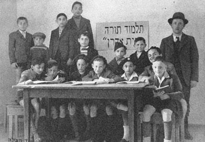 Schüler der Talmud Thora Schule in Stuttgart.