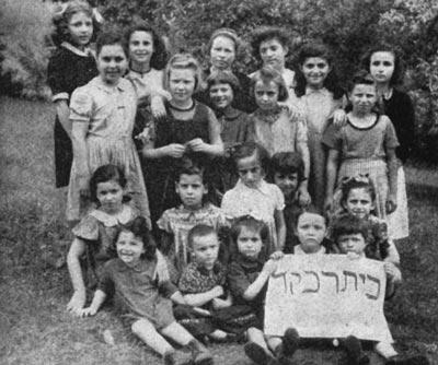Klasse der Mädchenschule Beth Rivka