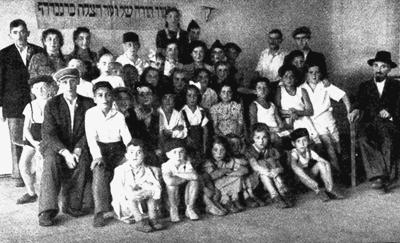 Schüler der Talmud Thora Schule in Deggendorf