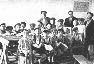 Klasse des Cheders in der Hindenburg-Kaserne