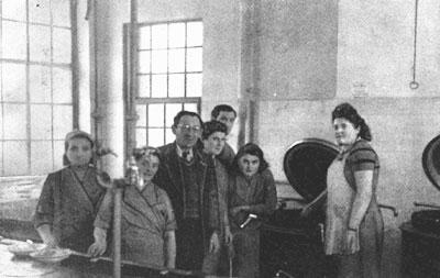 Mitarbeiter der Koscheren Küche in Eggenfeld