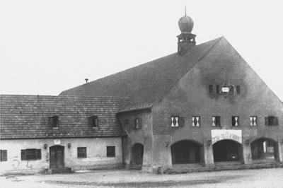 Hauptsynagoge im Camp Föhrenwald