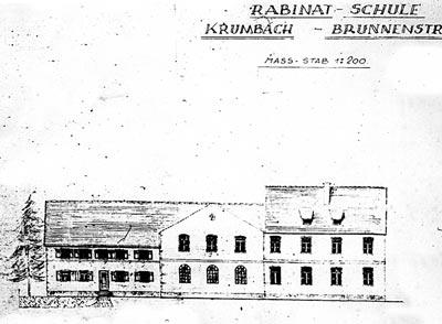Gebäudezeichnung ca. 1947 (Repro: nurinst-archiv)